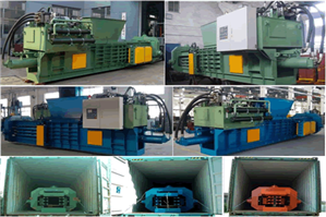 Automatic Palm Fiber enfardamento Machines