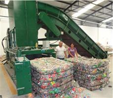 For aluminum cans baling